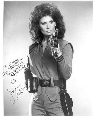 Jane Badler autograph